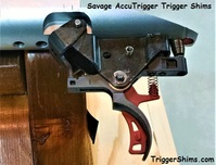 Savage AccuTrigger with Trigger Shim