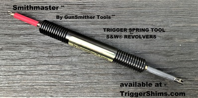 SMITHMASTER™ - TRIGGER SPRING TOOL FOR S&W® REVOLVERS