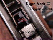 Ruger Mark II Trigger Shims