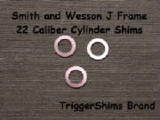 Smith and Wesson J Frame Rimfire Cylinder Shims