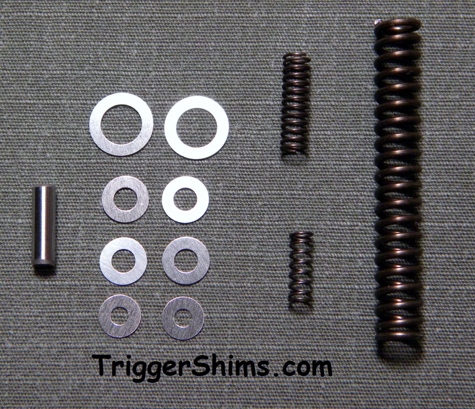 Combo Pak 8 Shims w/ Wolff Springs