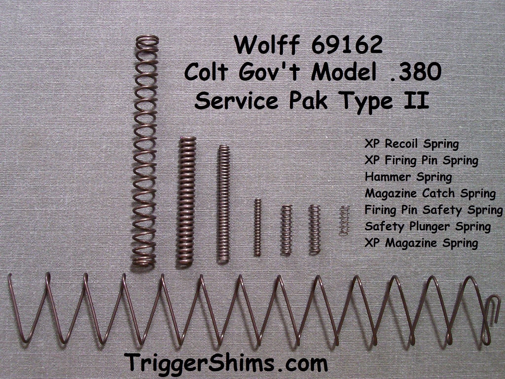 Wolff Gun Springs at TriggerShims